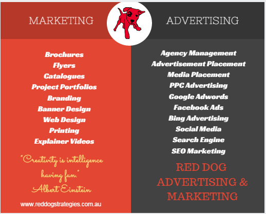 reddog advertising - marketing